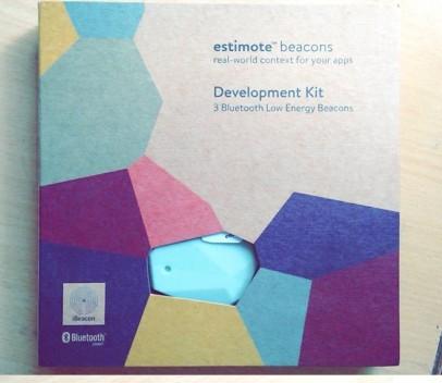 Prize: Estimote Bluetooth Beacon Development Kit